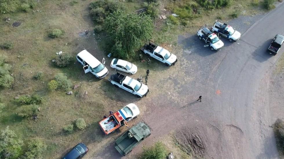 Localizan en Irapuato, Guanajuato, ocho fosas clandestinas; tendrían al menos 100 restos óseos - Foto de AM