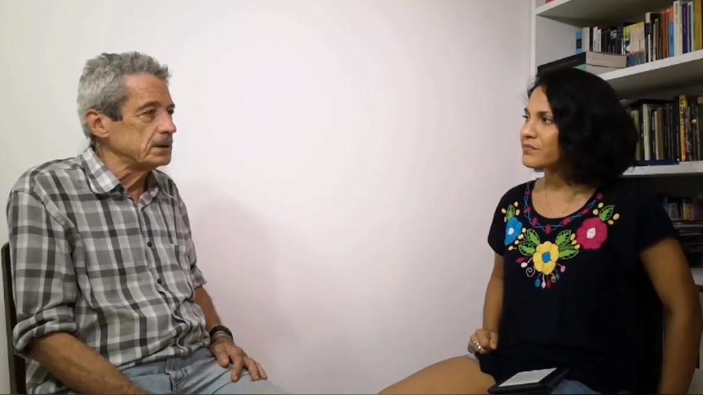 #Video Conversa Haydée Milanés sobre La Habana con el cineasta Fernando Pérez - Haydée Milanés en plática con el director de cine Fernando Pérez. Captura de pantalla / @haydeemilanes