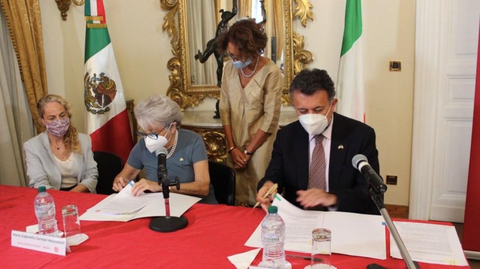 Recibirán apoyo mexicanas víctimas de violencia de género en Italia - Foto de Embajada de México en Italia