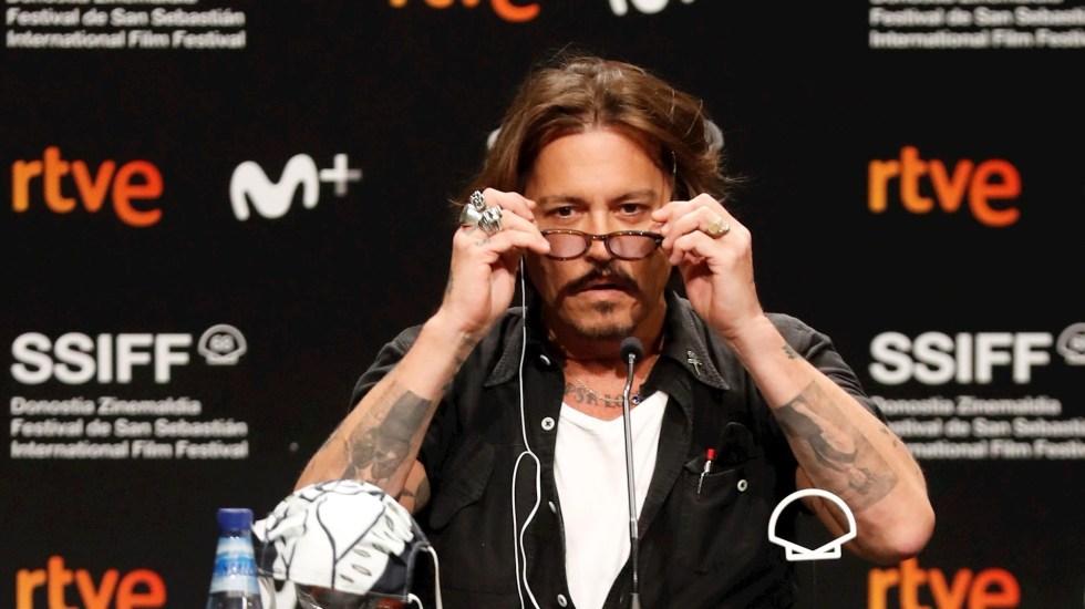 """""""Trump me hace reír, es comedia de terror"""", expresa Johnny Depp - Johnny Depp actor"""