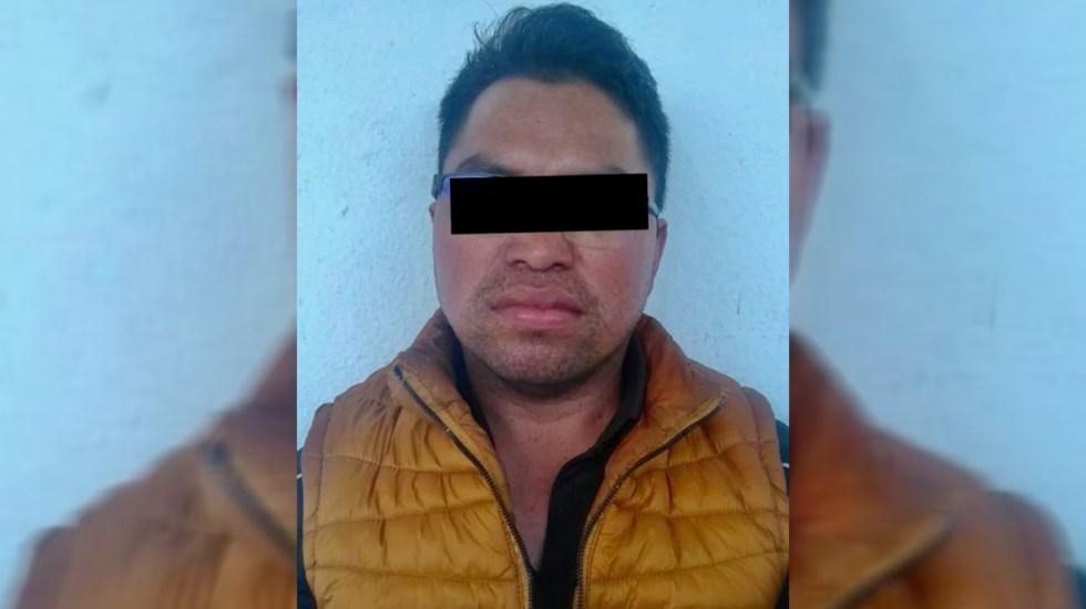 Desatan balacera frente a penal de San Cristóbal en Chiapas por detención de hombre - Juan Shilón, detenido en Chiapas. Foto de FGE