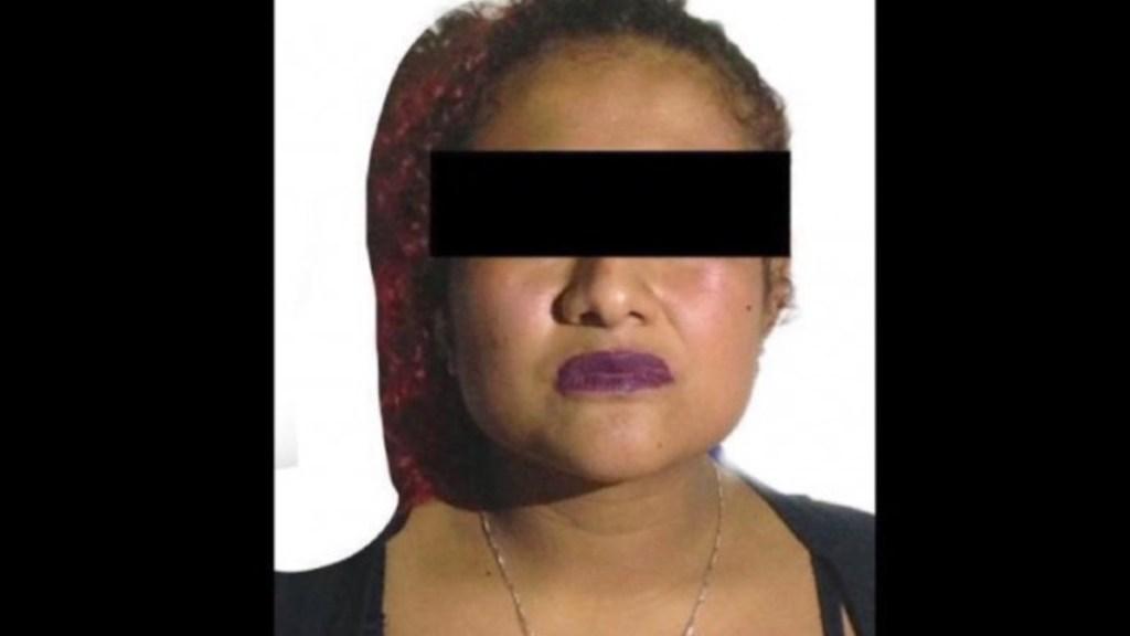 Detienen en Xalapa a 'La China' presunta jefa de plaza del CJNG - Foto de Policía Estatal Veracruz