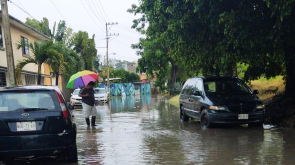 Prevén lluvias torrenciales en Tabasco y Chiapas por tormenta tropical Beta - Lluvias e inundaciones en Tabasco. Foto de @ProcivilTabasco