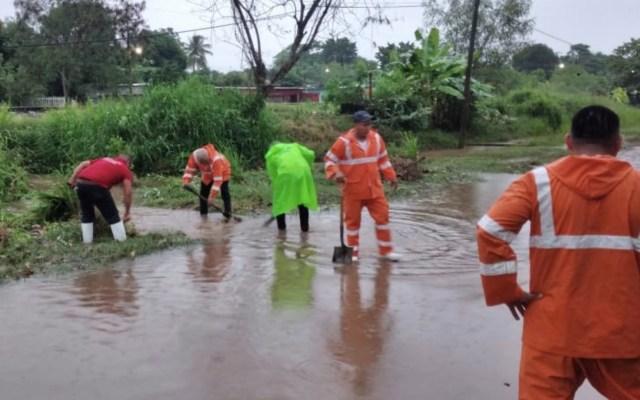 Onda tropical 34 recorre el sureste de México; provocará lluvias intensas en Guerrero, Oaxaca y Chiapas - Foto de Twitter Policía Vial Oaxaca