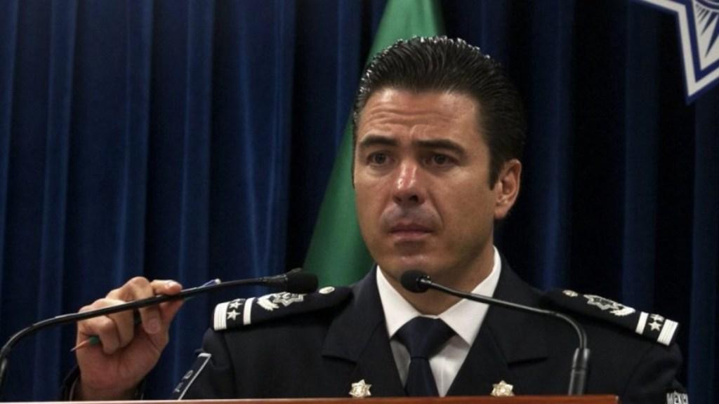 Ordena Tribunal descongelamiento de tres cuentas bancarias de Luis Cárdenas Palomino, exmando de Policía Federal - Luis Cárdenas Palomino. Foto de Milenio