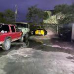 Matamoros Tamaulipas GOPES aseguramiento vehiculos aves tigres 21