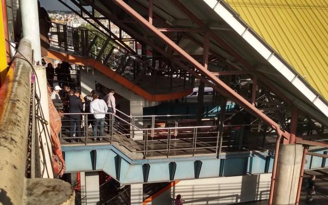 Asesinan a hombre en estación Río de los Remedios del Metro - Metro Río de los Remedios. Foto de @faromorrissey