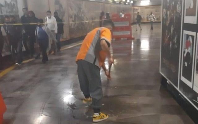 Metro suspende servicio en cuatro estaciones de la Línea 3 por afectaciones tras lluvias - Foto de Metro CDMX