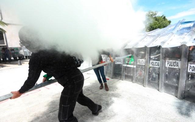 Afirma AMLO que Gobierno de CDMX ha actuado con responsabilidad en manifestaciones de colectivas feministas - Foto de EFE