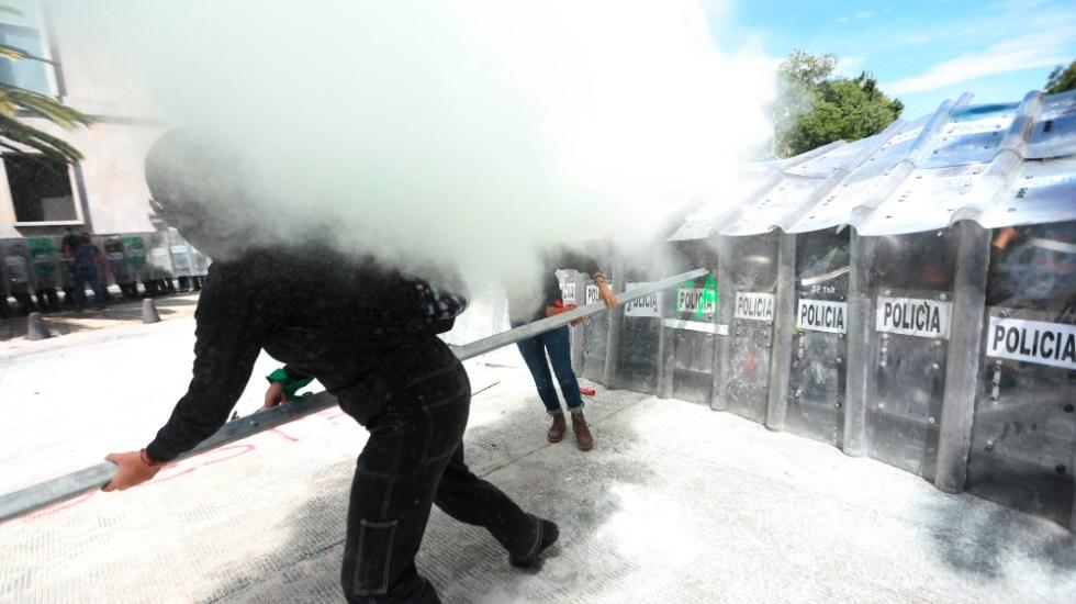 ONU pide al gobierno mexicano proteger y no atacar a mujeres manifestantes - Foto de EFE