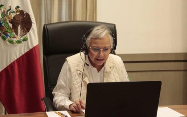 Inadmisible que tantas víctimas hayan acudido a múltiples instancias a pedir ayuda, señala Sánchez Cordero - Foto de Twitter Olga Sánchez Cordero