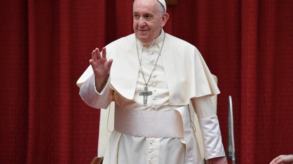 Critica papa Francisco que se escuche más a farmacéuticas que a personal sanitario que lucha contra COVID-19 - Papa Francisco. Foto de Vatican News