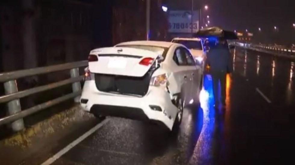 Muere mujer al ser atropellada en Segundo Piso del Periférico - Foto de Telediario