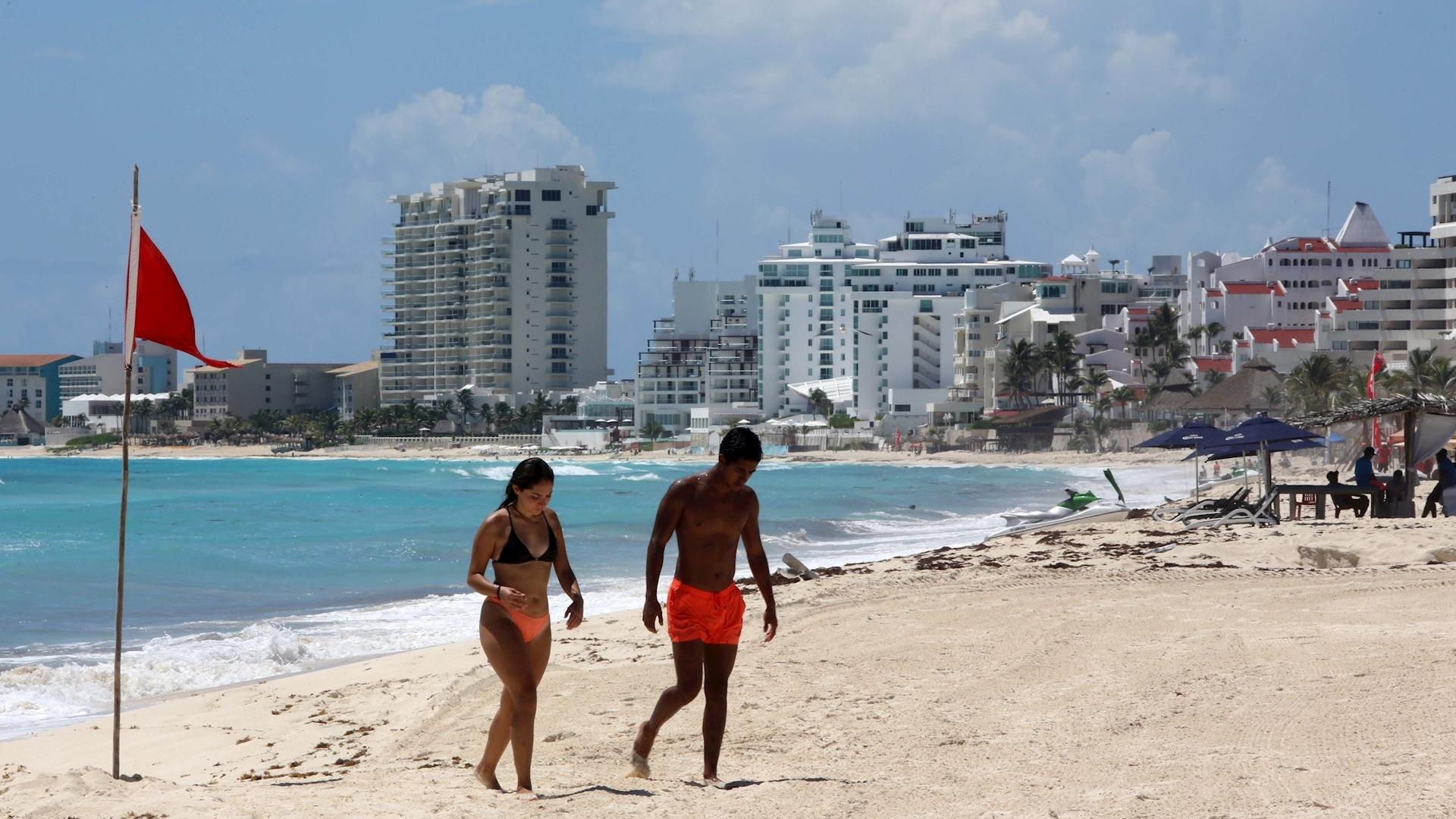 Playa Cancún Quintana Roo reapertura