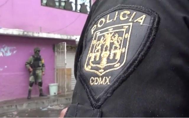 Aseguran 600 dosis de drogas y 15 personas en la alcaldía Azcapotzalco - Foto de SSC CDMX
