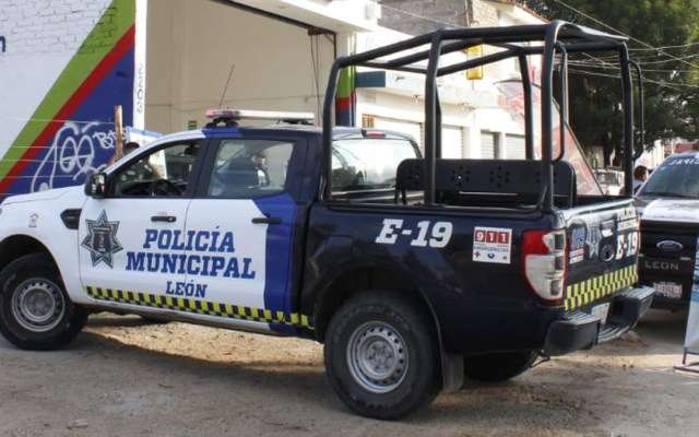 Suman 49 asesinatos en León durante septiembre; alcalde pide no politizar seguridad - Patrulla de la Policía Municipal de León. Foto de @Seguridad_Leon