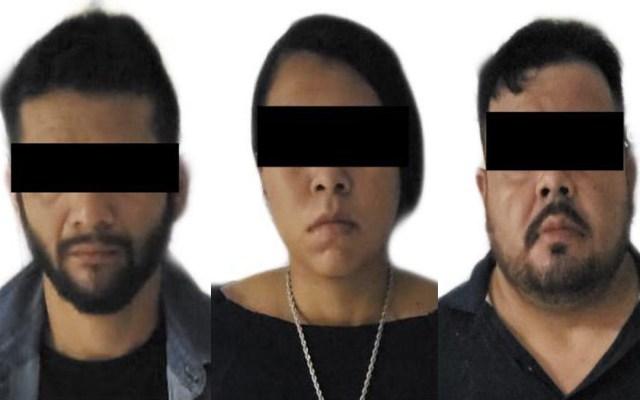 Detienen en Veracruz a tres presuntos miembros del CJNG - Presuntos miembros del CJNG detenidos en Veracruz. Foto Especial