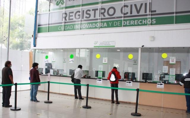 Registro Civil de la CDMX deja de publicar datos de defunciones, denuncia PRD - Registro Civil de la Ciudad de México. Foto de @CDMXConsejeria