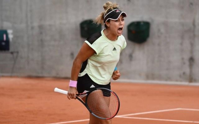 Renata Zarazúa pasa a segunda ronda del Roland Garros - Foto de Roland Garros