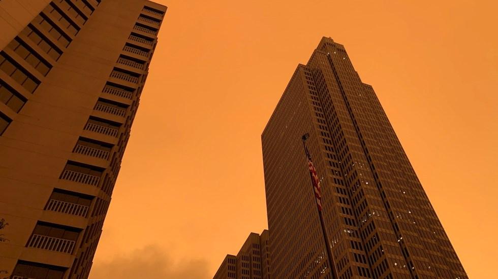 Hemisferio norte tuvo el verano más cálido del que se tiene registro, revela estudio - San Francisco humo niebla naranja incendios