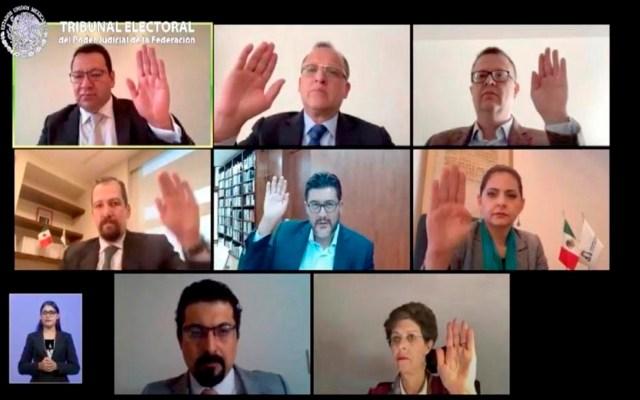 TEPJF avala cambios del INE a elección para renovar dirigencia de Morena - El TEPJF avaló cambios realizados por el INE a proceso interno de Morena. Foto @TEPJF_informa