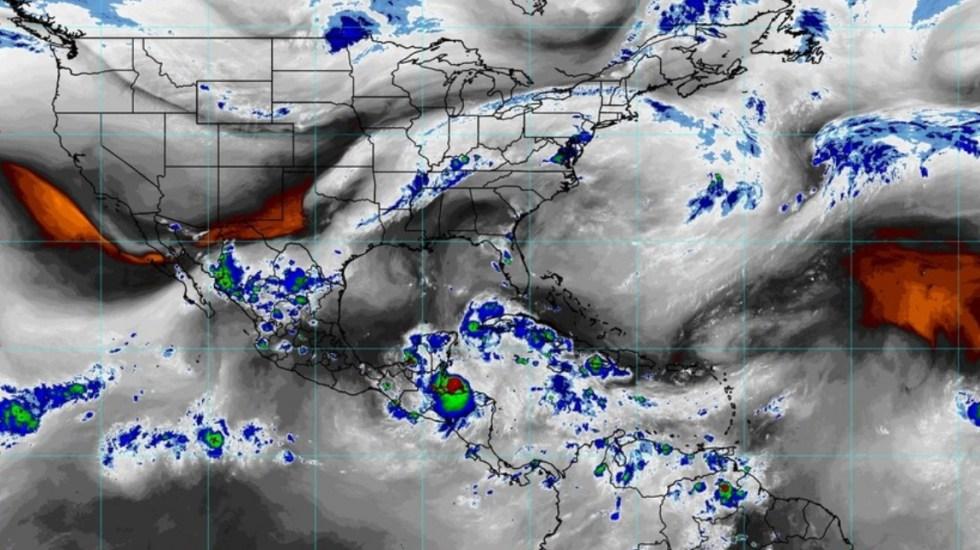 Nana se intensifica a huracán; provocará lluvias en el sureste de México - Tormenta Tropical Nana clima México