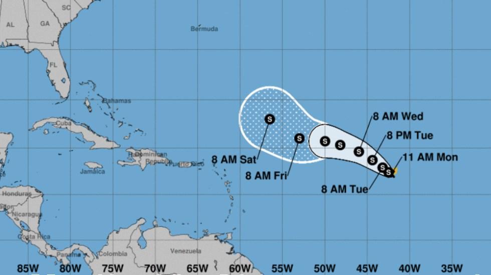 Se forma la tormenta tropical Paulette - Foto de NHC
