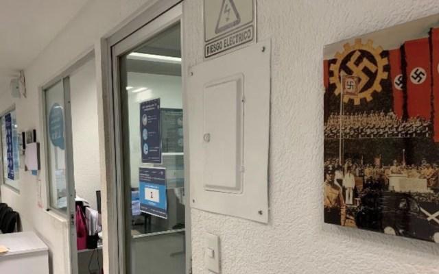 """""""Somos víctimas de un linchamiento digital"""", acusan trabajadores de concesionaria de Volkswagen que tenía foto del nazismo - Foto de Twitter @FerEstrellas"""