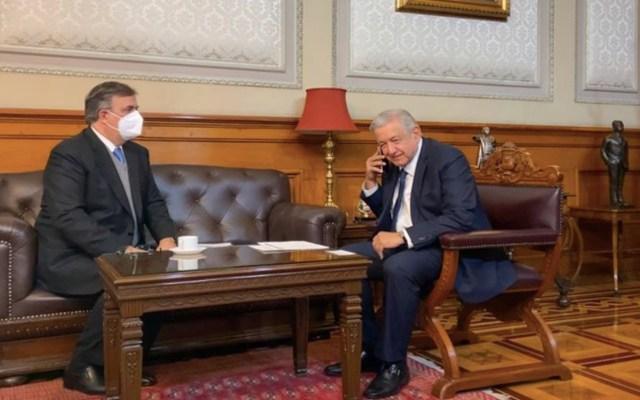 López Obrador felicita a Luis Alberto Arce Catacora por triunfo en elecciones presidenciales de Bolivia - Foto de Twitter López Obrador