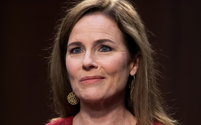 Senado de EE.UU. decide el lunes si confirma a Amy Coney Barrett en el Tribunal Supremo - Amy Coney Barret. Foto de EFE
