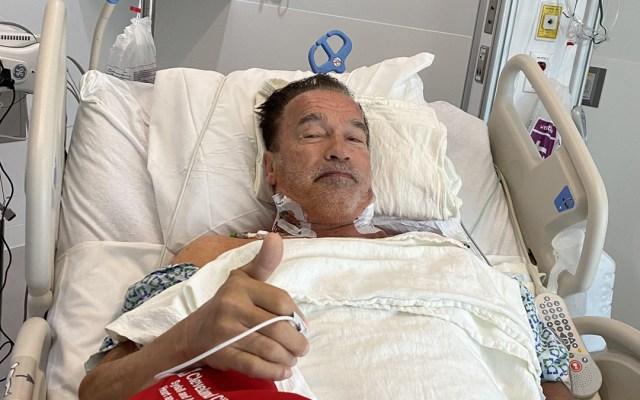 """Revela Arnold Schwarzenegger cirugía cardíaca; """"me siento fantástico"""", afirma - Arnold Schwarzenegger tras cirugía cardíaca. Foto de @Schwarzenegger"""