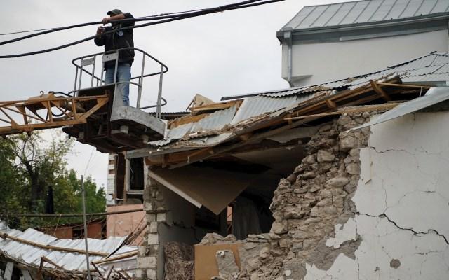 Azerbaiyán y Armenia se acusan mutuamente de violar el alto al fuego - Azerbaiyán Armenia Nagorno Karabaj