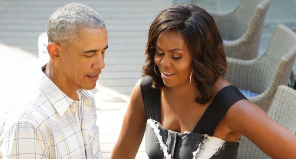 Barack y Michelle Obama desean pronta recuperación a Donald y Melania Trump - Barack Obama Michelle Estados Unidos