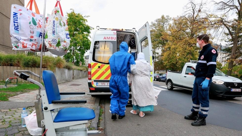 Bélgica anuncia nuevo confinamiento nacional ante incremento de casos de COVID-19 - Foto de EFE