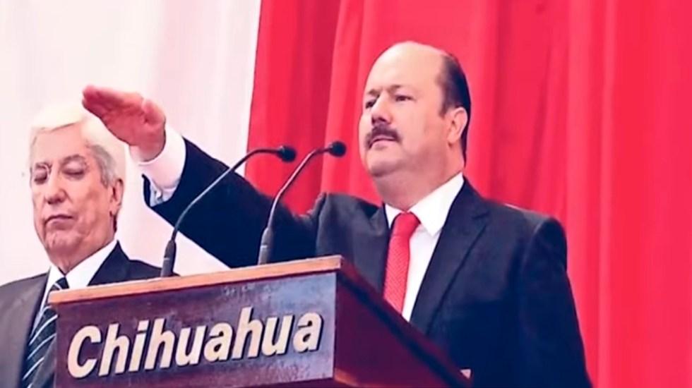 Audiencia de César Duarte en Miami se mantiene para el 10 de noviembre - El exgobernador de Chihuahua, César Duarte. Foto Captura de pantalla