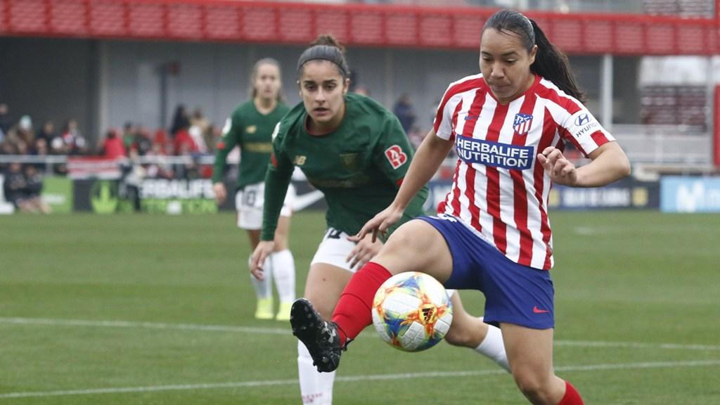 """""""Fue un golpe muy duro que no me detendrá"""", expresa Charlyn Corral tras grave lesión en rodilla - Charlyn Corral Atlético de Madrid Femenil"""