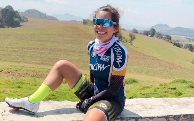 Conductor atropella y mata a ciclista de la UNAM y su papá en la México-Pachuca - Ciclista Fernanda Ordoñez. Foto de Facebook