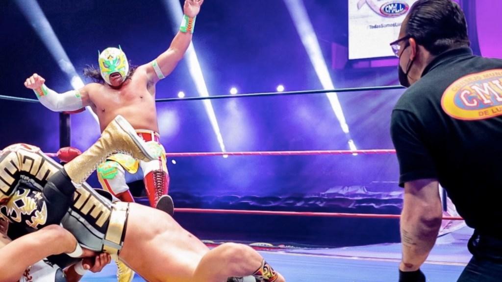 CMLL prepara funciones especiales por el Día de Muertos - Foto de Twitter CMLL