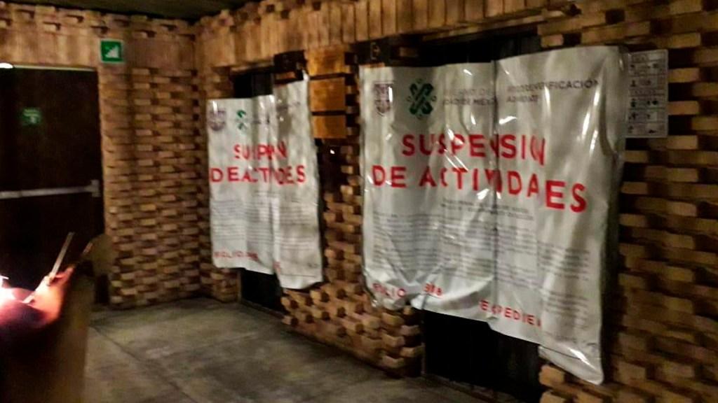 Clausuran tres establecimientos de la Cuauhtémoc por 'fiestas COVID-19' - Por realizar una COVID fiesta, ayer suspendieron actividades en un establecimiento de la colonia Juárez. Foto Twitter