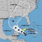 Se forma depresión tropical Veintiocho en el mar Caribe; provoca lluvias en Yucatán, Campeche y Quintana Roo