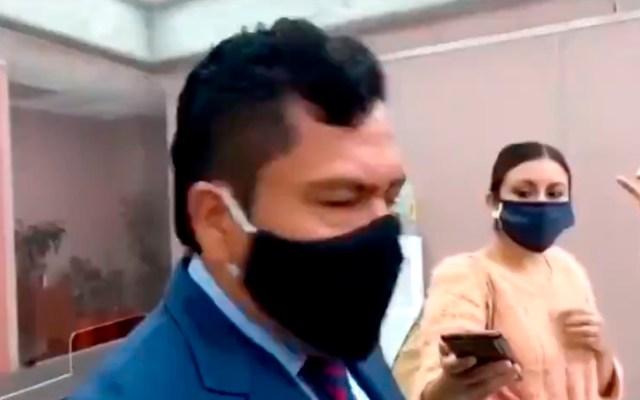#Video Diputado de Morena en Veracruz reconoce que tiene a su hijo como chofer por 15 mil pesos mensuales - Magdaleno Rosales, diputado de Morena en Veracruz. Foto Captura de pantalla