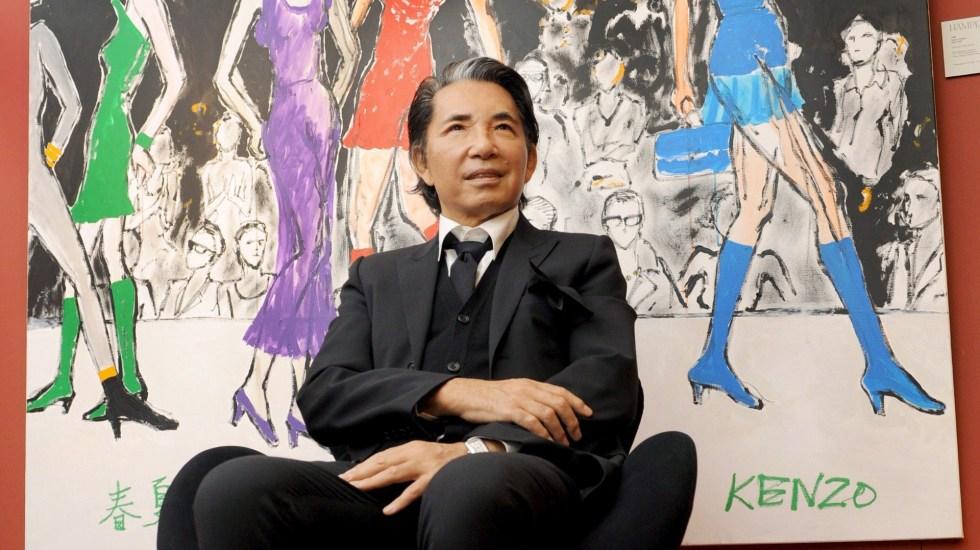 Murió a los 81 años el diseñador japonés Kenzo Takada - Diseñador Kenzo Takada. Foto de EFE