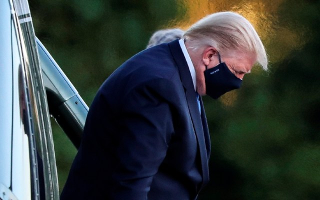 """Trump muestra síntomas """"muy preocupantes""""; sus próximas horas son críticas, según jefe de Gabinete de la Casa Blanca - Donald Trump. Foto de EFE"""