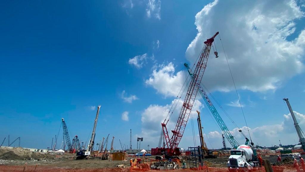Descalifica AMLO informe de ASF sobre presunto outsourcing en refinería de Dos Bocas - Foto Presidencia