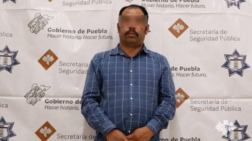 Detienen a 'El Moco', señalado como presunto líder del robo de hidrocarburo en Puebla - Foto de Gobierno de Puebla