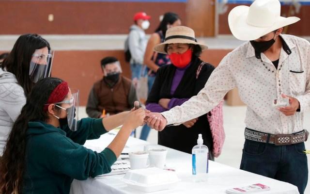 Citlalli Hernández llama al voto masivo a favor de Morena en Hidalgo y Coahuila; consejero del INE la acusa de violar ley electoral - Foto Twitter @adriafavela
