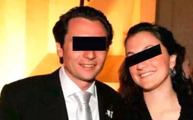 Conceden amparo a hermana de Emilio Lozoya contra detención - Emilio Lozoya junto a su hermana Gilda Susana. Foto Especial
