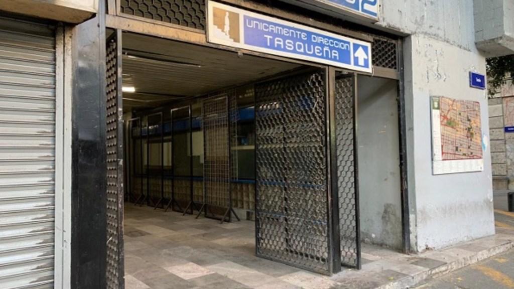 Reabre estación Allende del Metro; permaneció cerrada tres meses por pandemia de COVID-19 - Foto de Twiter Contacto Ciudadano