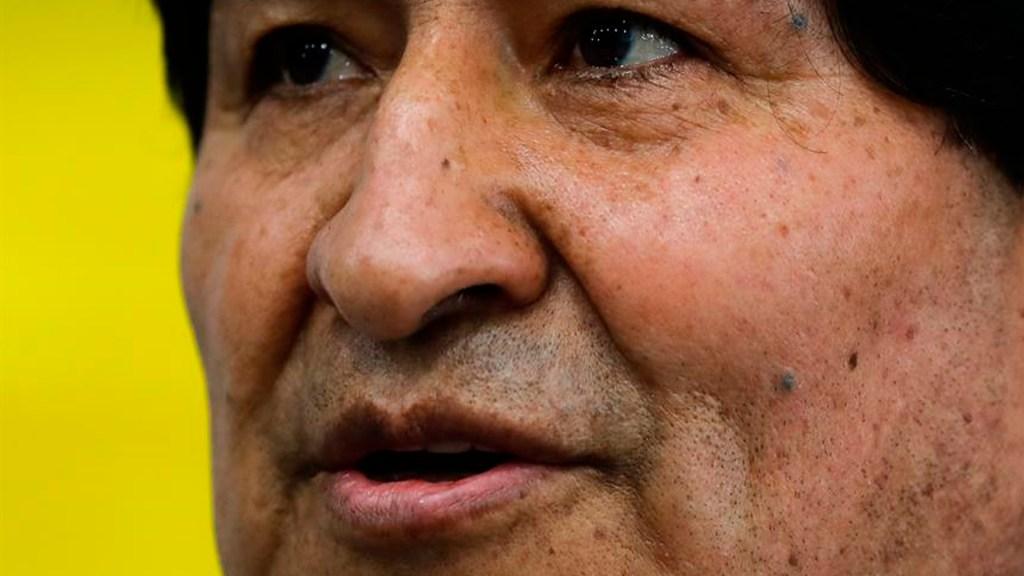 """Celebra Evo Morales """"espíritu pacífico"""" con el que se desarrollan las elecciones presidenciales en Bolivia - El expresidente boliviano Evo Morales. EFE/Juan Ignacio Roncoroni"""