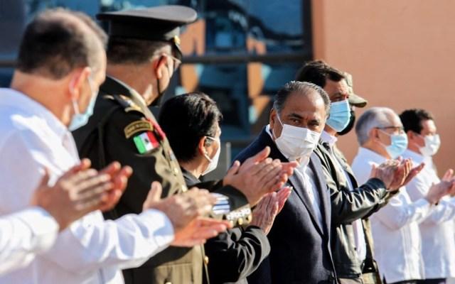 Al mejorar en seguridad, en Guerrero se respira un ambiente completamente distinto, asegura el gobernador Astudillo - Foto de Twitter Héctor Astudillo